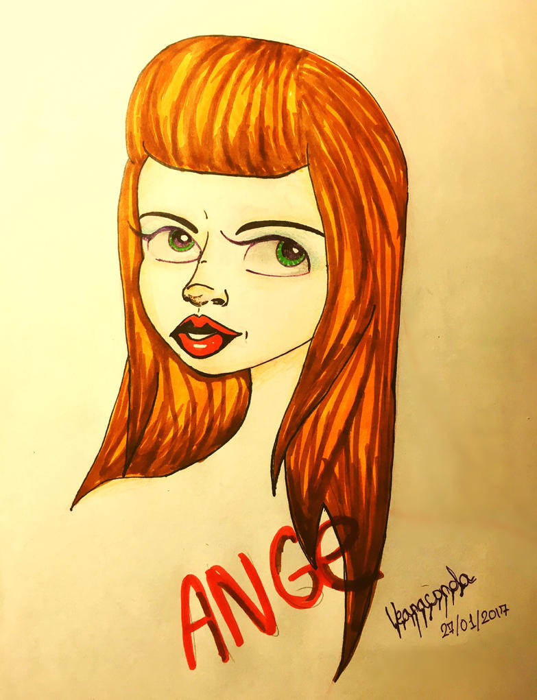 Ange [4th Period Lunch] by vianaconda
