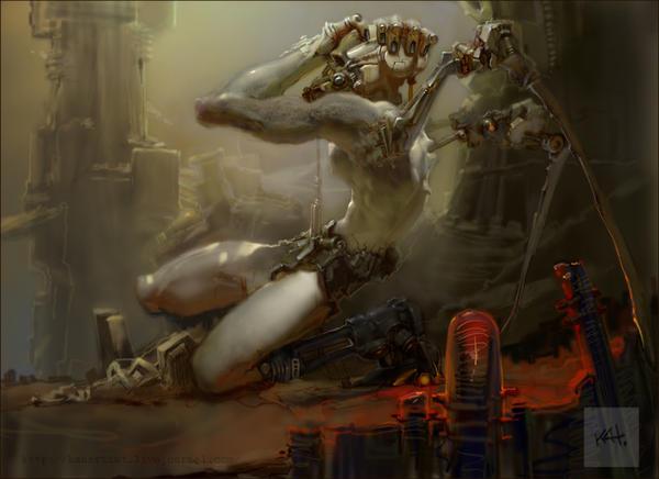 iron angel by kanartist