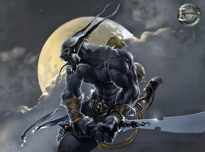 demon 2 by kanartist