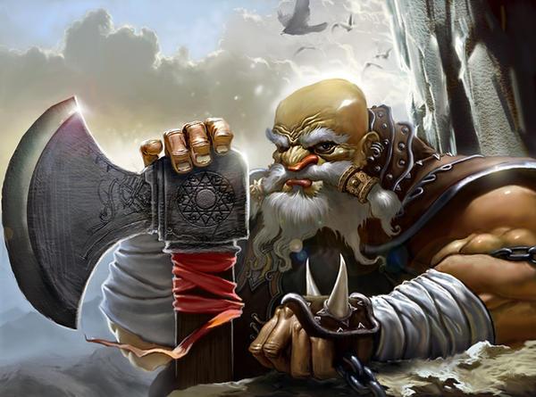 dwarf by kanartist
