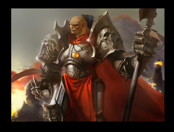 knight of trol by kanartist
