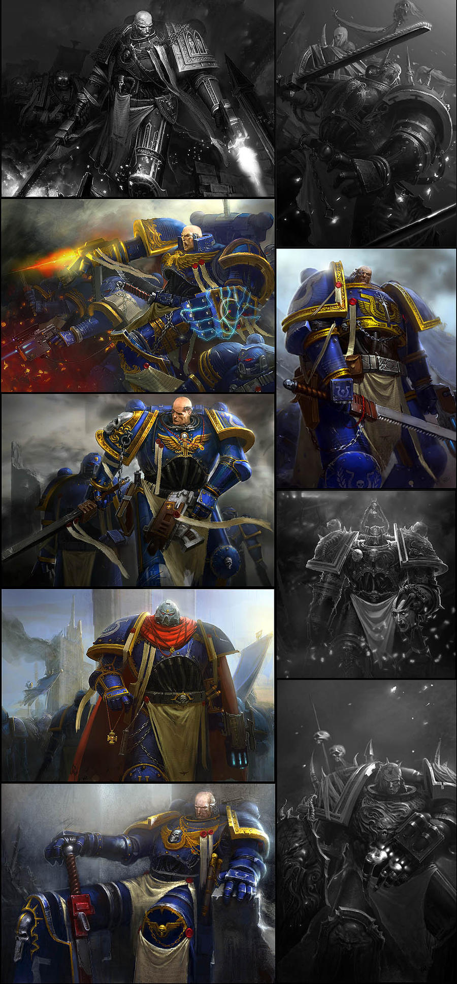warhammer art collect.. by kanartist