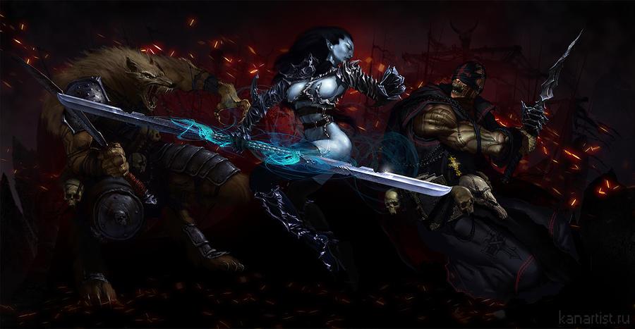 fantasy hellgard by kanartist