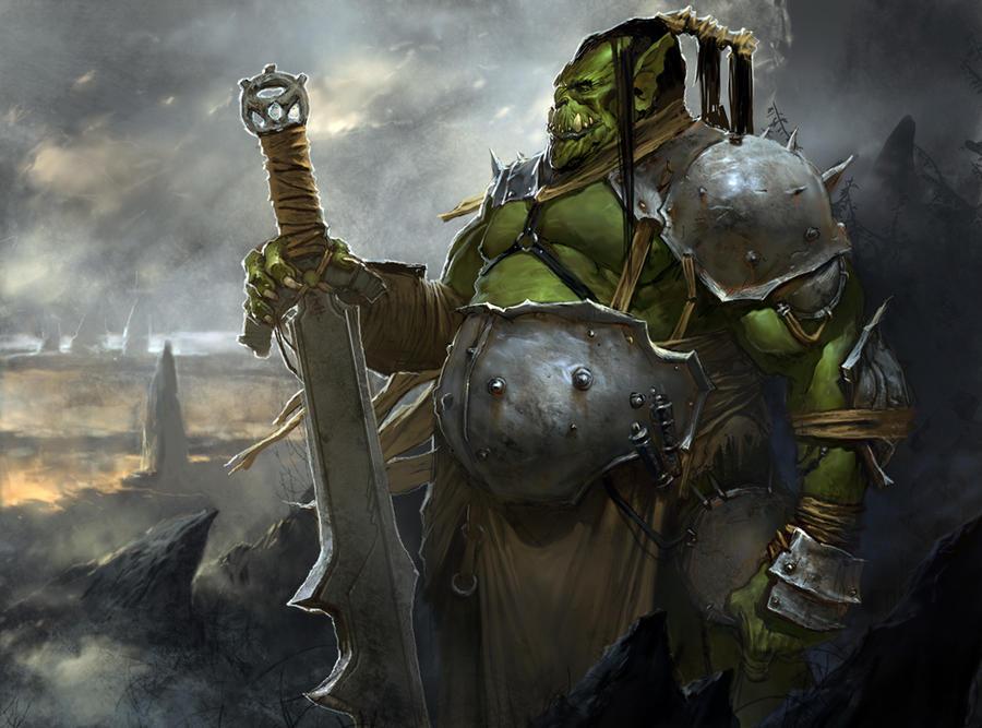 Ork by kanartist