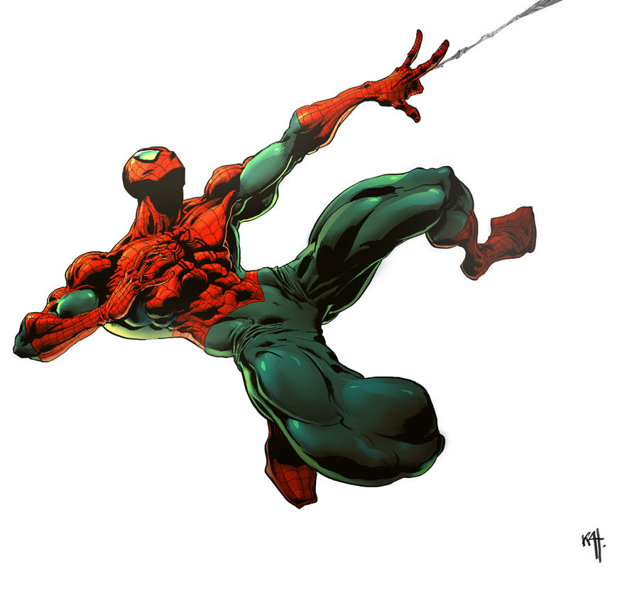 spider man by kanartist