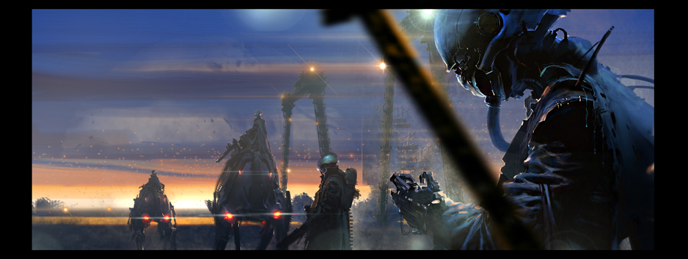 series of Post-Apocalyptic 5 by kanartist