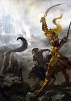 The legend of Vanx Malic by kanartist