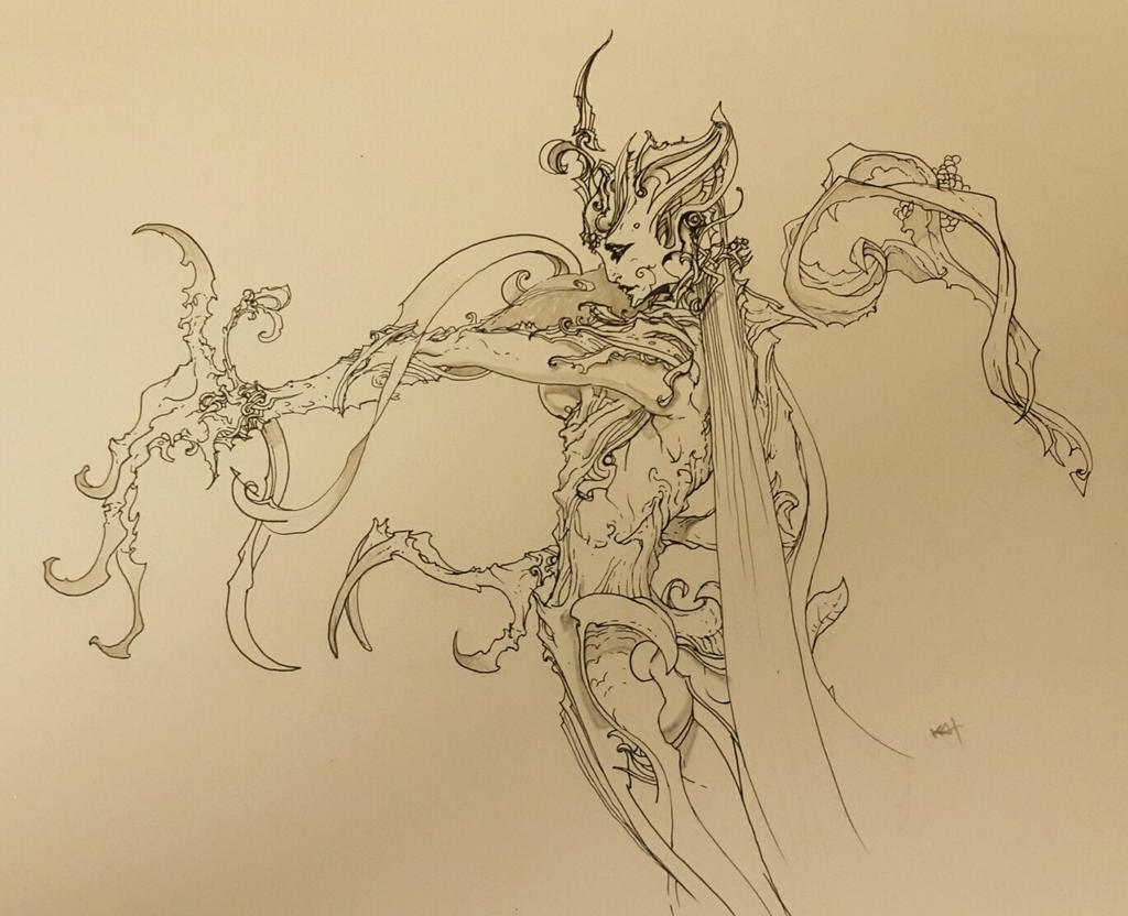 fantasy by kanartist