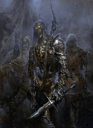 concept art film Seventh Son by kanartist