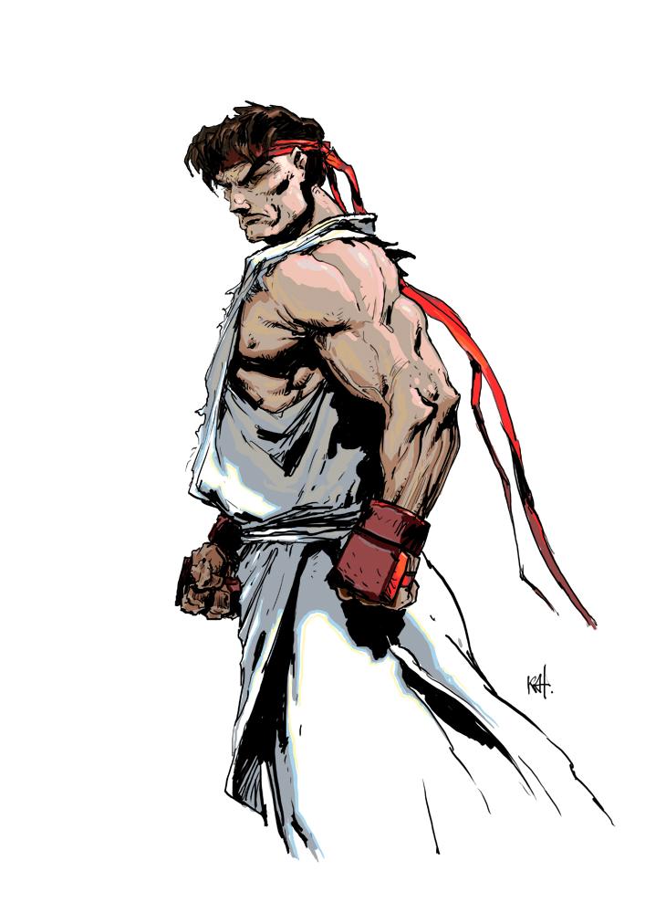 Ryu 2 by kanartist