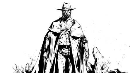 cowboy by kanartist