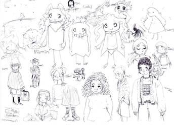 sketches by Niko-Plus