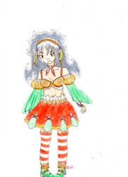 OC- Pumpkin Witch by Niko-Plus