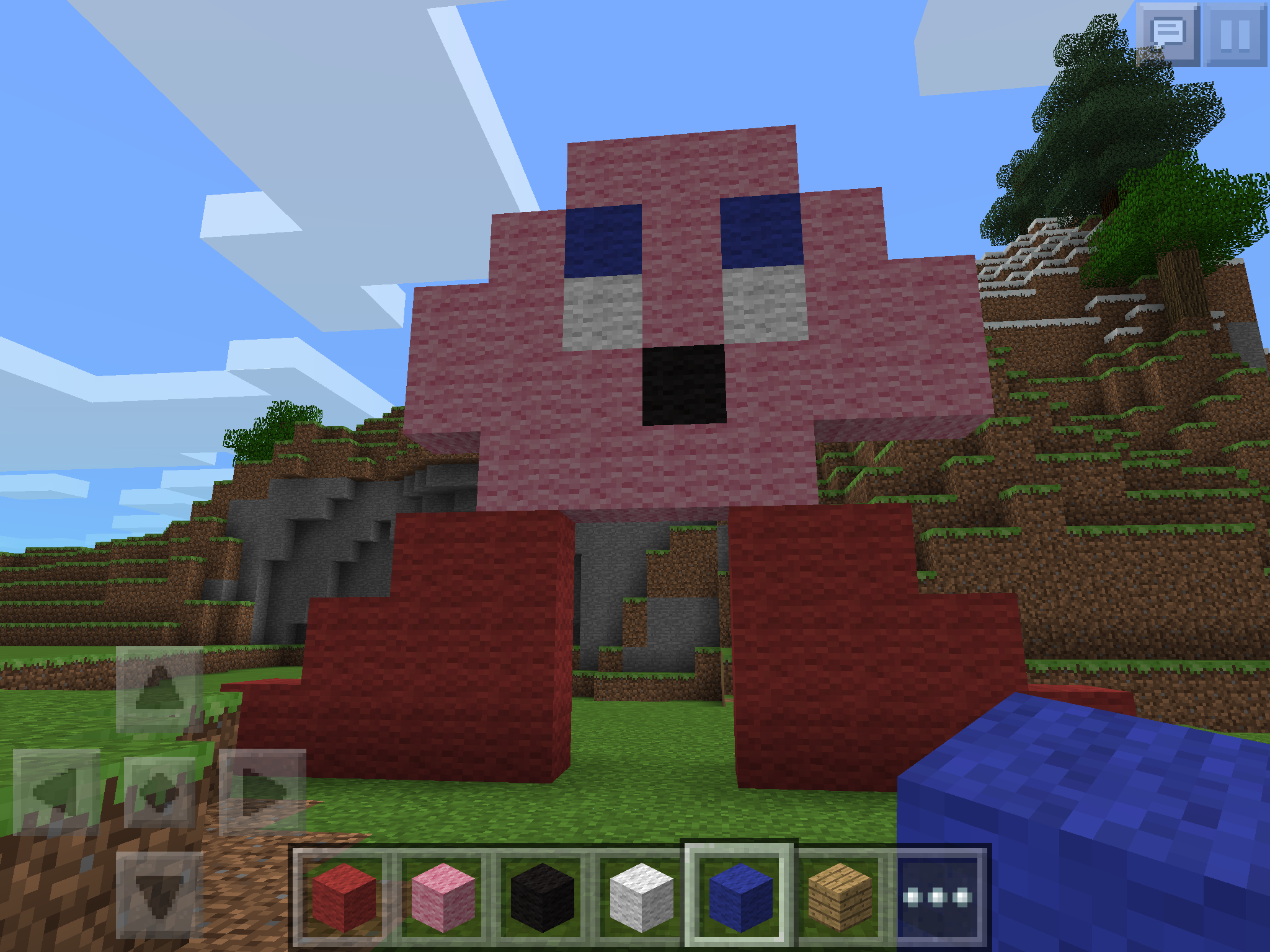 Crafted D Minecraft Ios