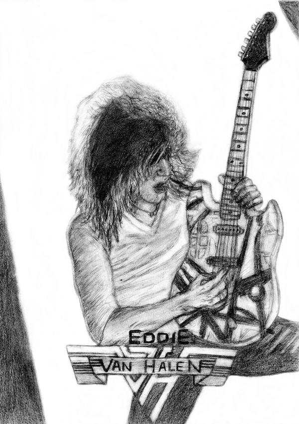 'Eddie Van Halen' by JonXDream