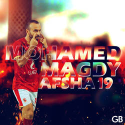 Mohamed Magdy Afsha - football player by AsiiMDesGraphiC