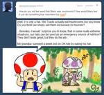 Ask Toad - Weird?