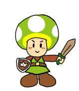 Toad Link by pocket-arsenal