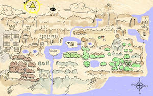 Map O' Hyrule by pocket-arsenal