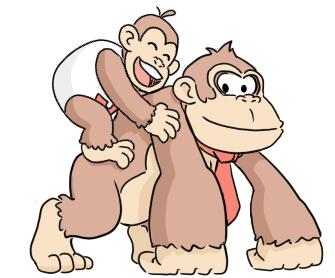 Kongs Junior and Senior by pocket-arsenal