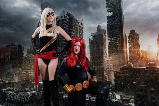 Ms. Marvel and Black Widow