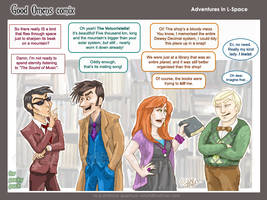 GO+DW:Adventures In L-Space by quantum-witch