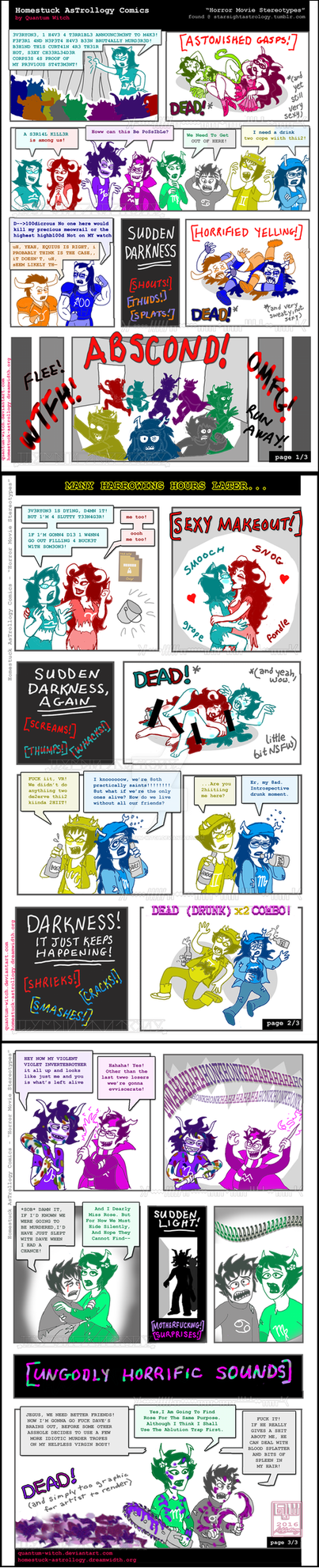 HS-Horror Movie Stereotypes by quantum-witch