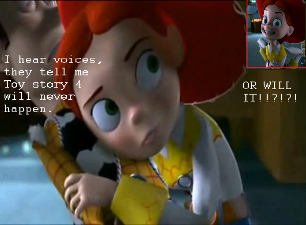 Jessie Predicts Toy Story 4 By MeisAwsome1 On DeviantArt