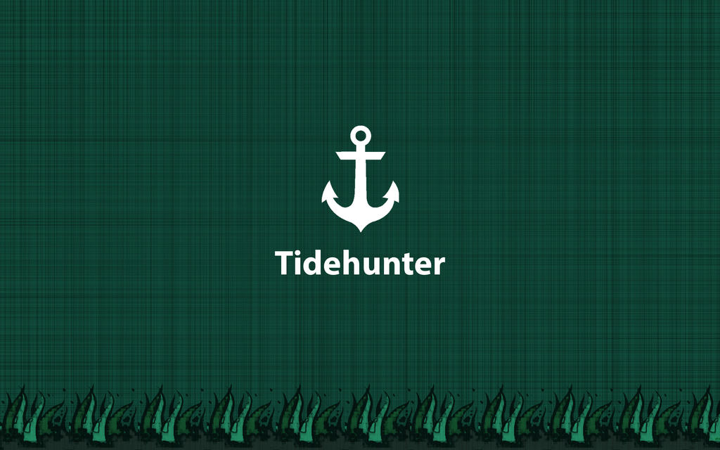 Dota Tidehunter Minimalistic Wallpaper By Ytz