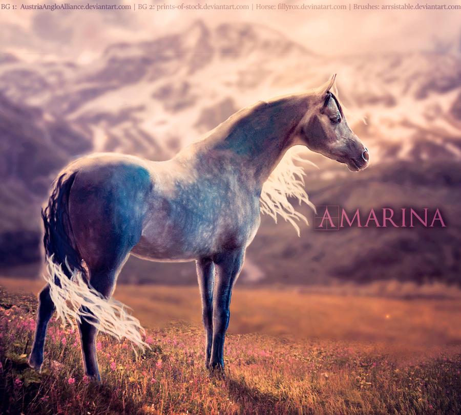 Amarina WIP by Nahorse