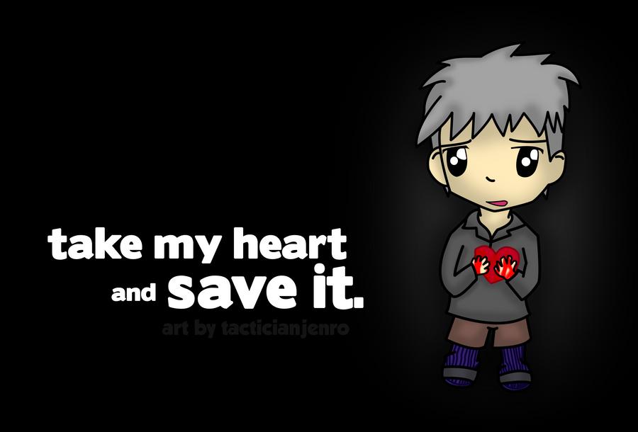 Bleeding Heart by yami-joey