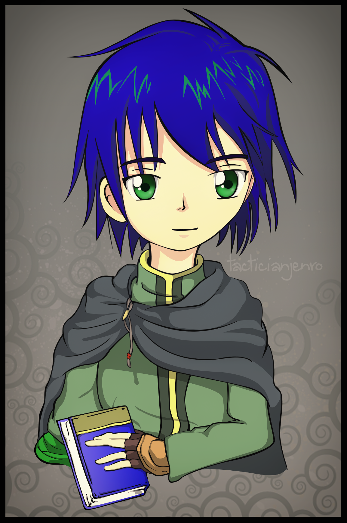 Tactician Jenro by yami-joey