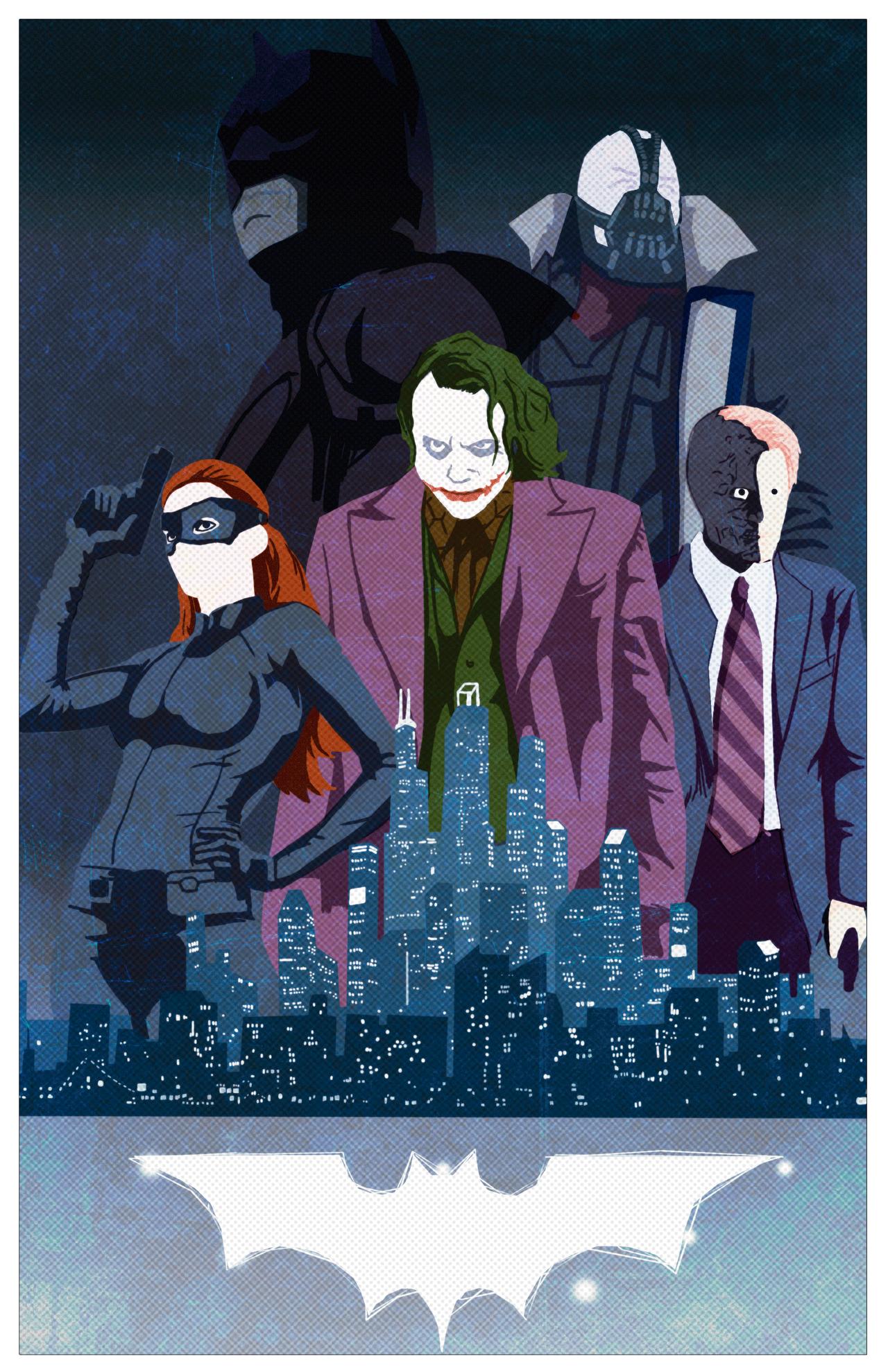 Batman trilogy by deNevin