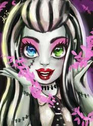 Frankie Stein Monster High by Kimyri