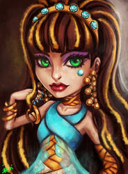 Cleo de Nile Monster High by Kimyri