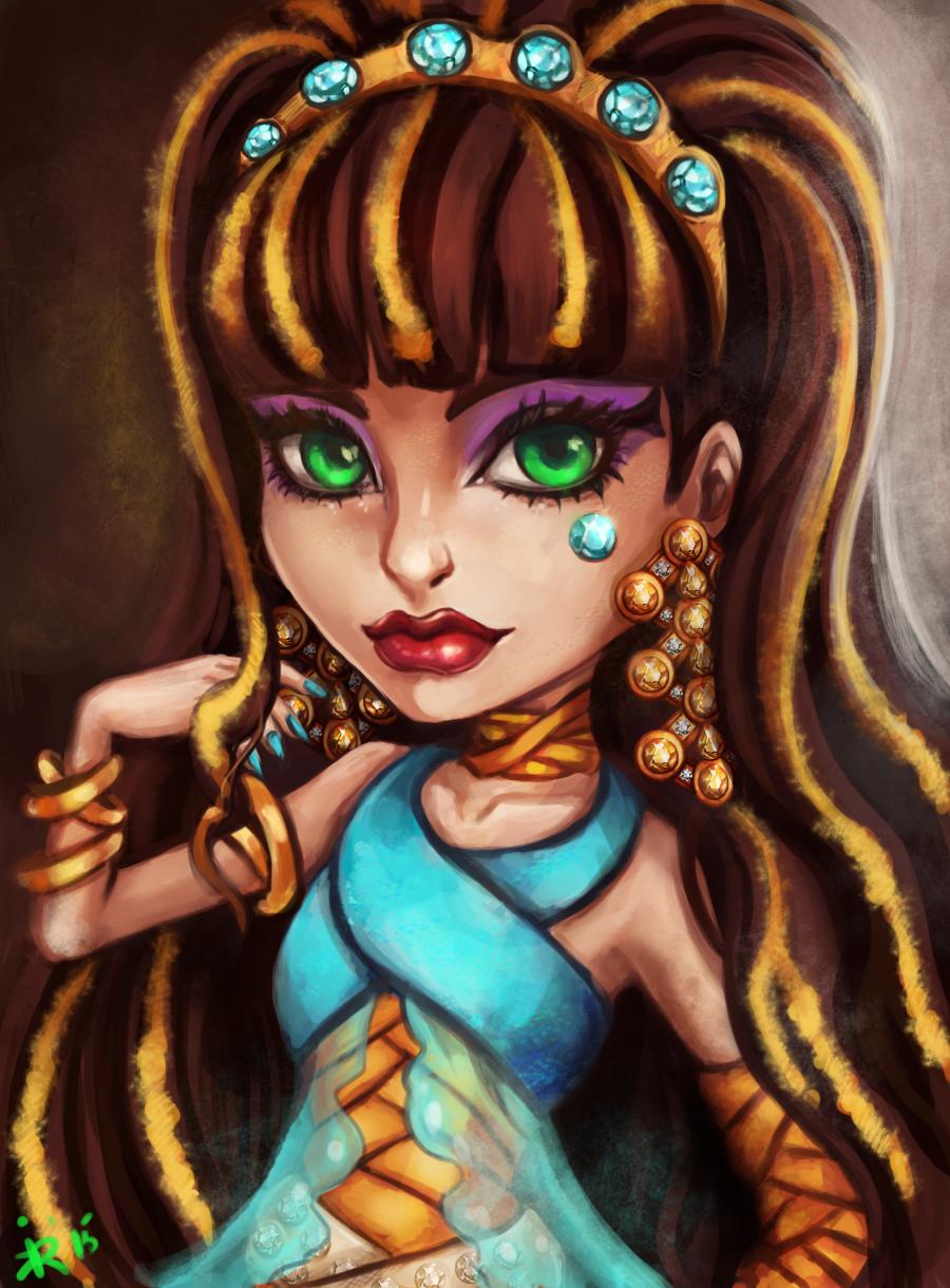 Cleo de Nile Monster High by Kimyri on DeviantArt