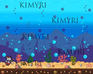Pixel art underwater adventure by Kimyri