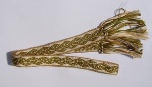 tablet weaving : vine by were-were-wolfy