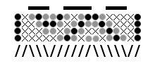 Tablet weaving pattern vine by were-were-wolfy
