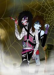 Halloween Twins by Durah