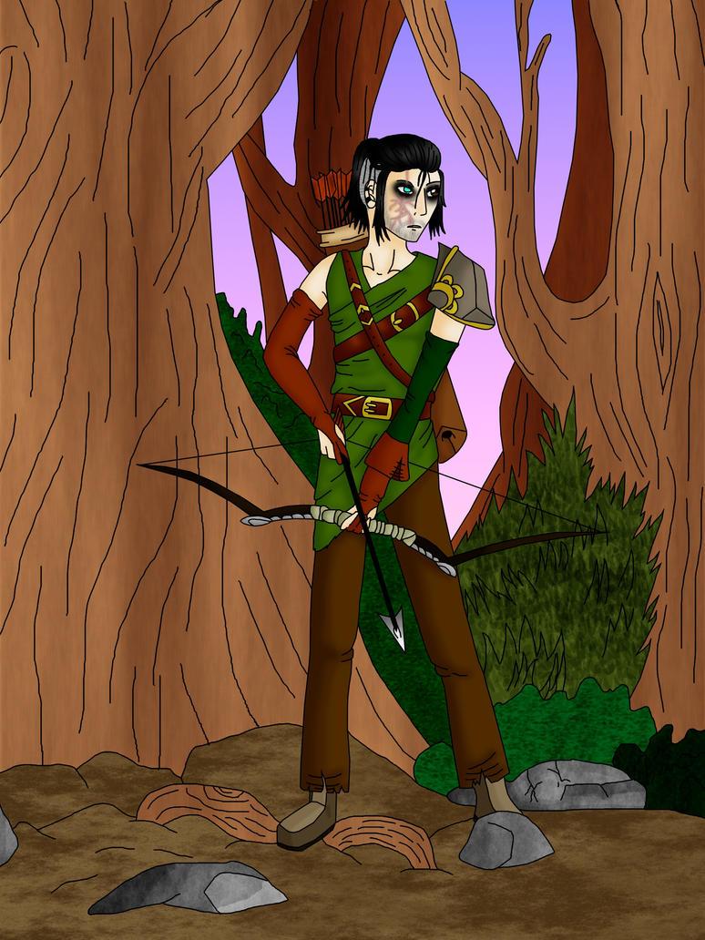 Garrett as a Pagan colour by Durah