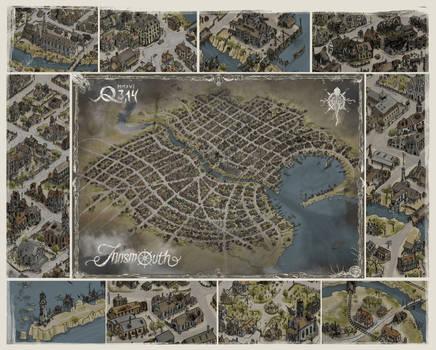 Innsmouth map - presentation