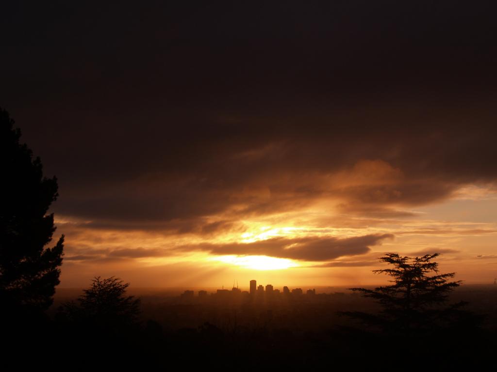 Sunset Over Adelaide by geniusatplay