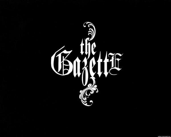The Gazette pretty logo wall