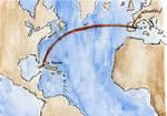 Flying to Havana