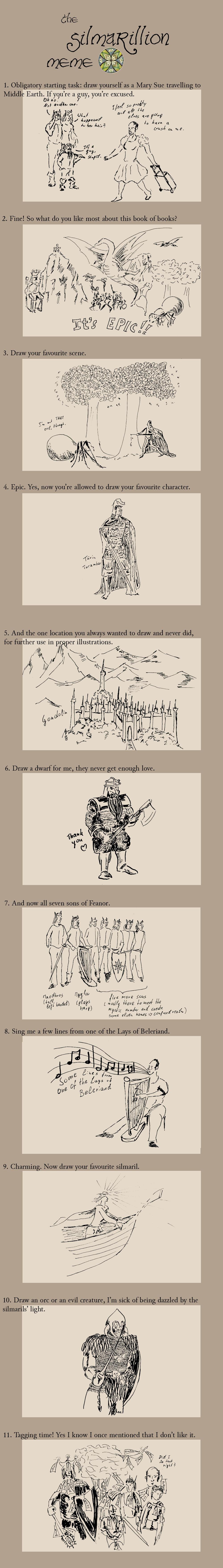 Dulliros's Silmarillion Meme by Dulliros