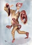 Moresca Dancers - 3  The Prophet