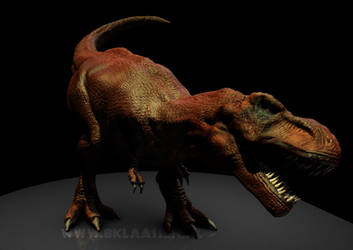 Another view on my T-Rex
