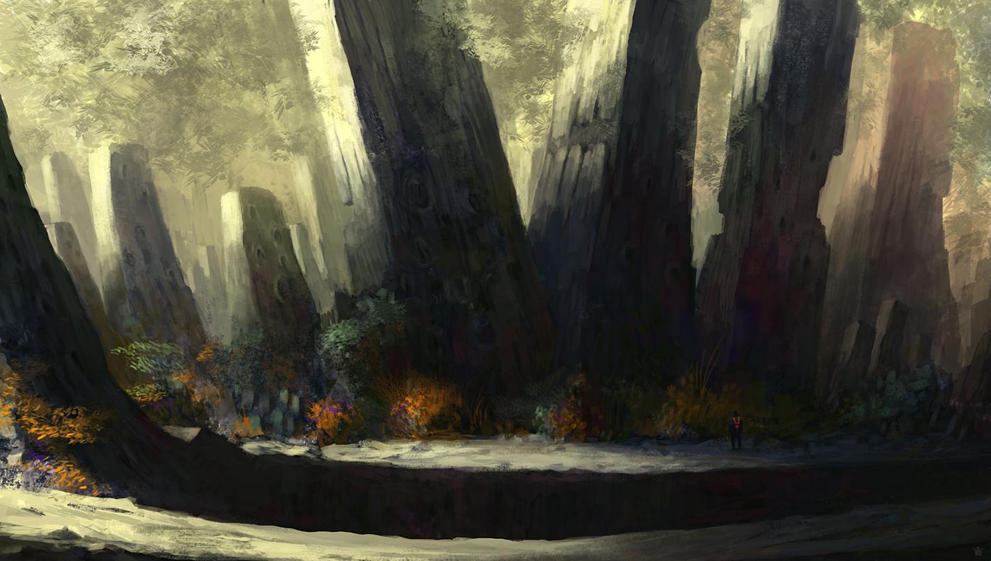 exploring by sangvine