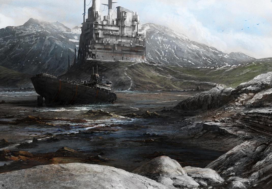 white rocks by sangvine